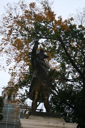 Commander John Barry statue