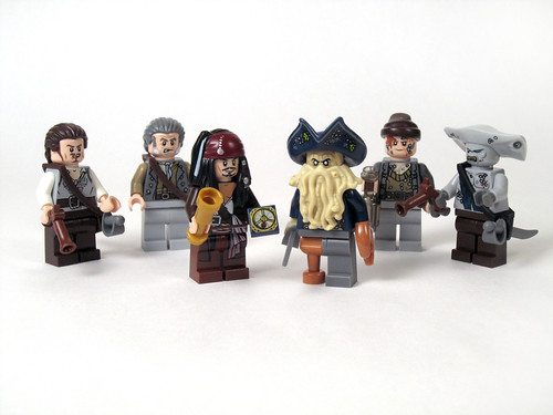 4184 Black Pearl Review - all figures