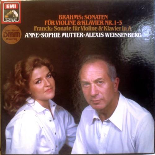 GE EMI ELECTROLA 1C-157 1434433 ANNE-SOPHIE MUTTER