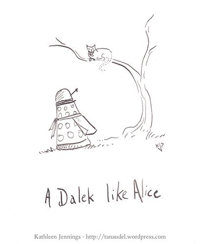 A Dalek Like Alice