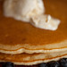 Blueberry ricotta pancakes with mascarpone honey butter 2