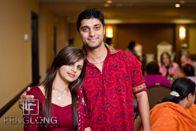 Groom & Nephew | Shamz & Sana's Wedding Day 1 | Hyatt Place Atlanta Airport South | Atlanta Indian Photographer