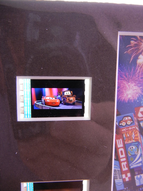 disney cars custom film slide plaque (2)