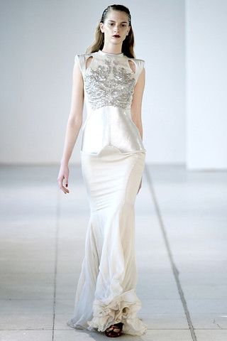 AB Spring 2012 evening gown