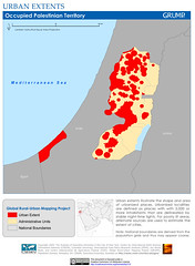 Occupied Palestinian Territory: Urban Extents