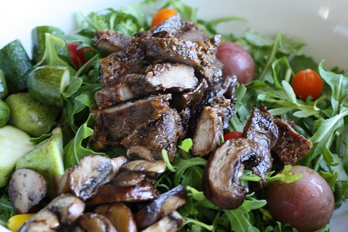 Vietnamese Grilled Pork (Thit Nuong) Salad