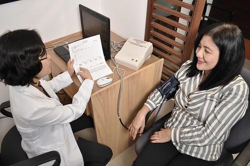 CardioVision test @ Rapha Health Institute
