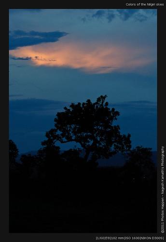 Colors of the Nilgiri skies