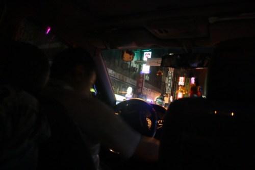 [台湾2.5] 言葉が通じるタクシーがいない。