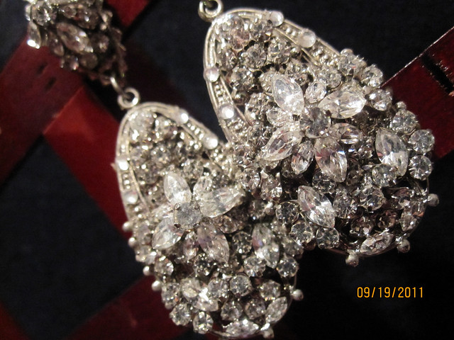 Maria Elena Custom Earrings for my wedding