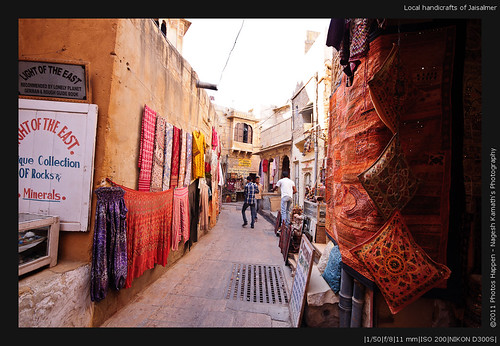 Local handicrafts of Jaisalmer