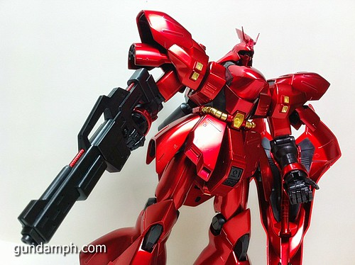 MG Sazabi Metallic Coating (Titanium-Like Finish) (48)