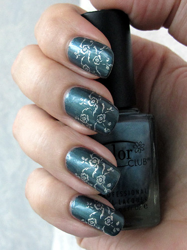 Color Club: Masquerading (with stamping)