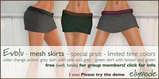mesh skirts