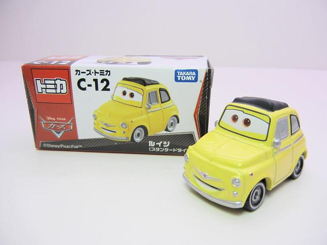 disney cars tomica c-12 luigi (2)