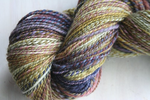 spun :: Hello Yarn August '11 Fiber Club