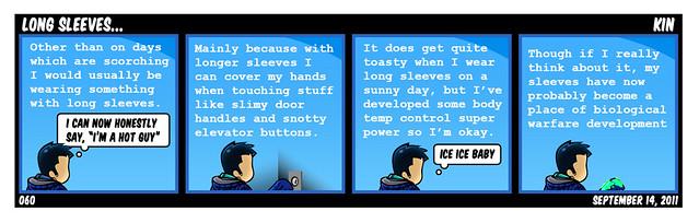 Long Sleeves...