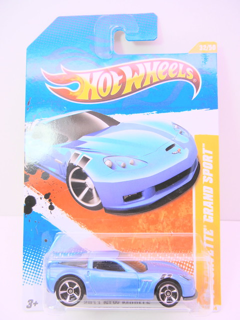 hot wheels '11 corvette grand sport blue (1)