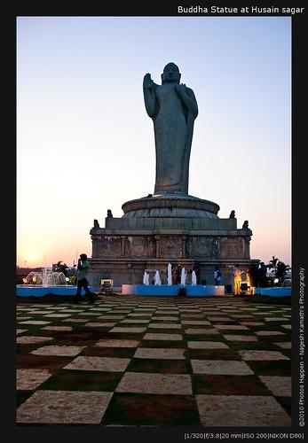 Buddha Statue at Husain sagar