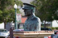 Sculpture of Gunnery Sergeant John Basilone