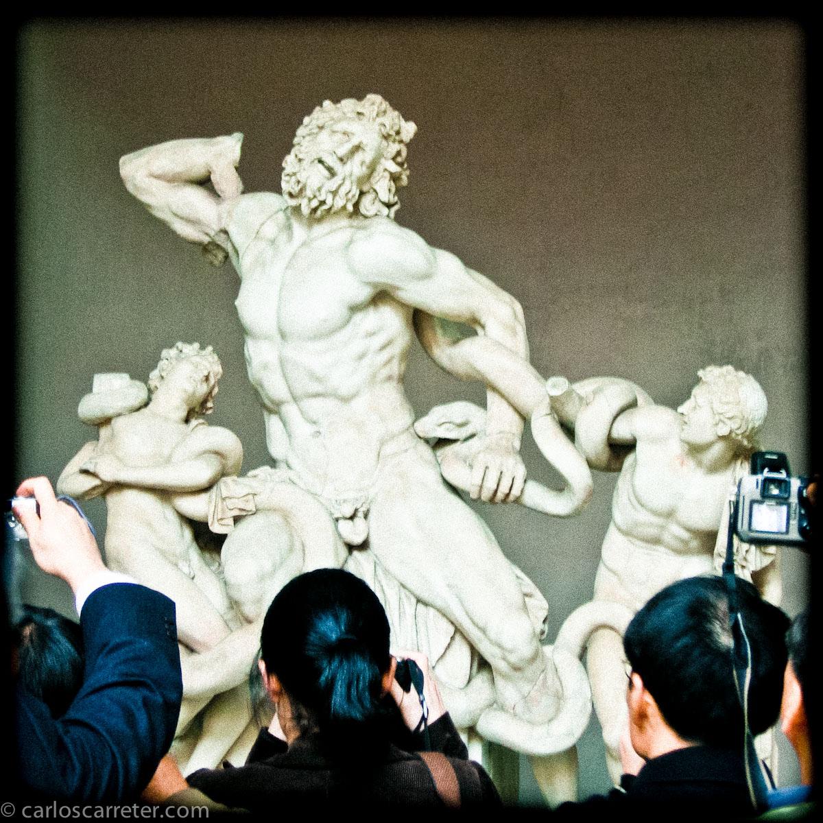 Laocoonte y sus hijos - Musei Vaticani