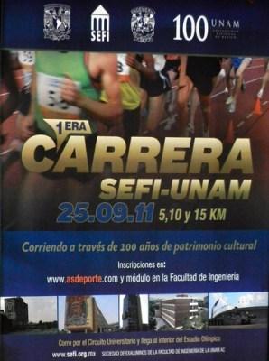 Carrera SEFI UNAM