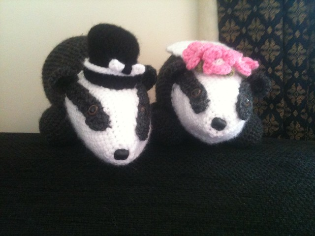 Wedding badgers