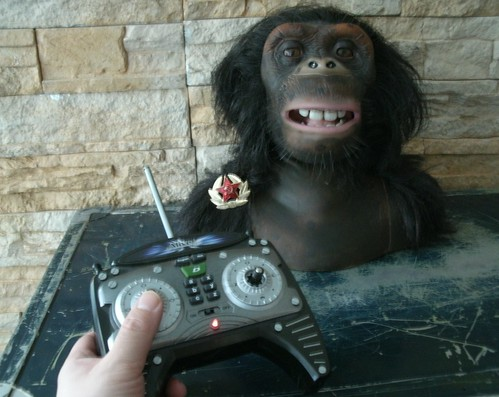 Ape remote controlled