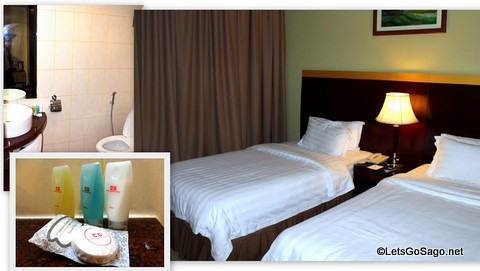 Gaya Center Hotel Accommodations & Amenities