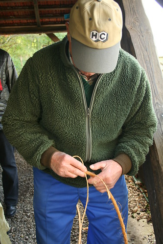 Ropemaking at Tadre Mølle
