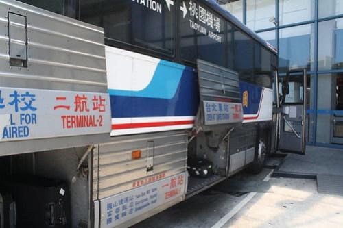 [台湾2.5] 國光客運バスで空港に向かう。さて、帰りますか