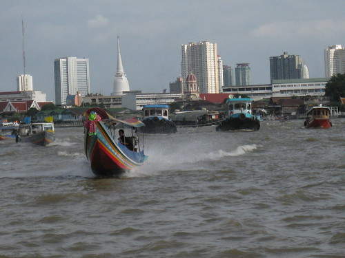 16/9/2011 - Ferry boat at Chao Phraya (Bangkok/Thailand)