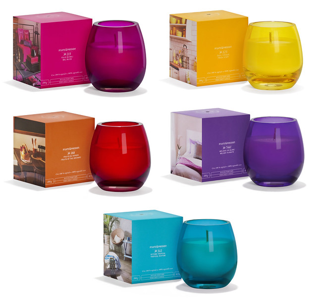 Fruits & Passion Perfumed Candles