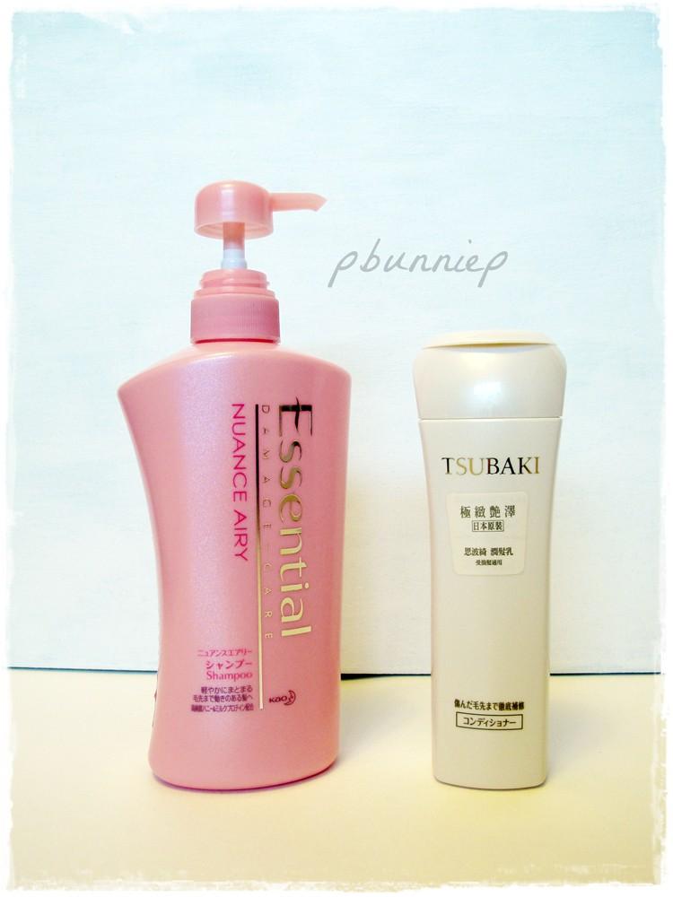 Essential Haircare + Tsubaki Haircare
