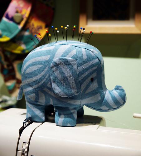 Elephant Pincushion