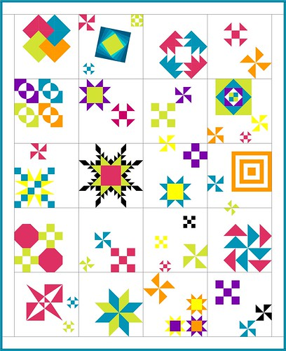 Test Your Skills Sampler 6 Blocks