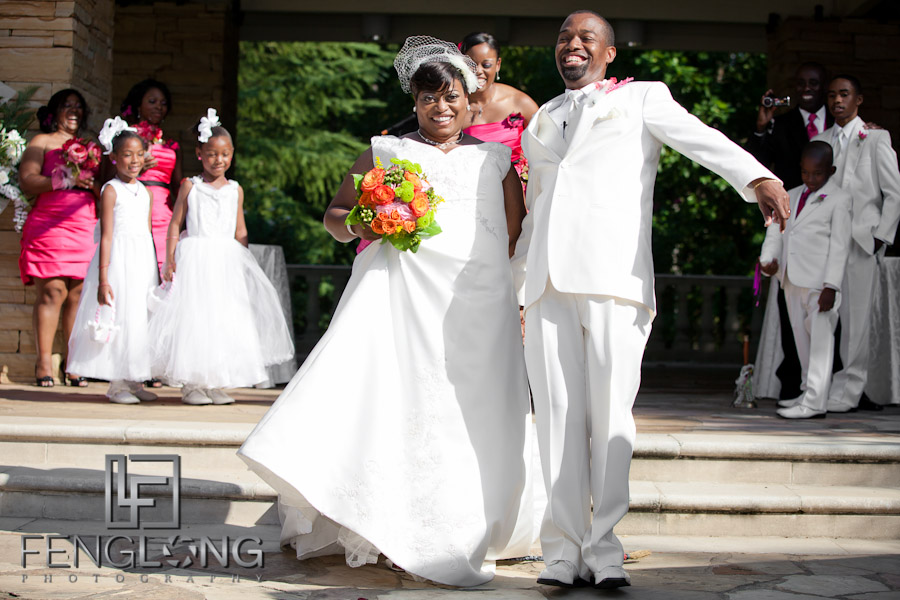 Jumping the Broom | Cherice & Chris' Wedding | Villa Christina | Atlanta Wedding Photographer