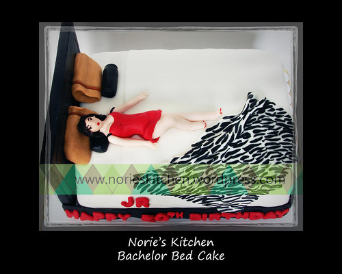 Norie's Kitchen - Bachelor Bed Cake by Norie's Kitchen