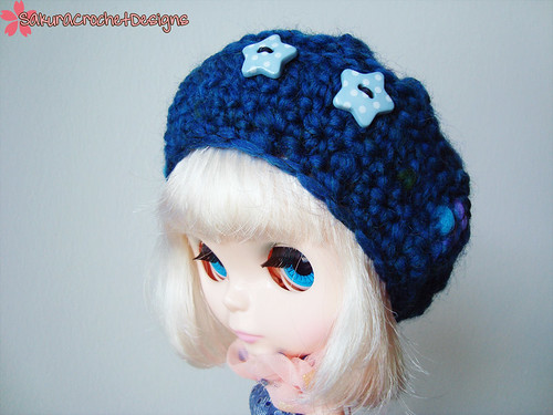 Star Kissed Blythe slouchy hat