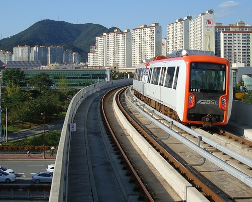 Busan Gimhae Light Rail by Jens-Olaf
