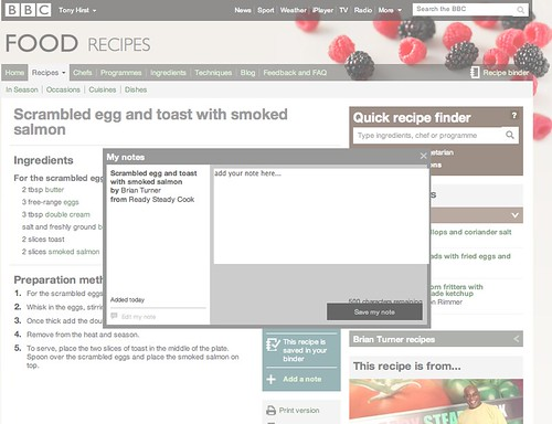 BBC Food - Recipe Binder