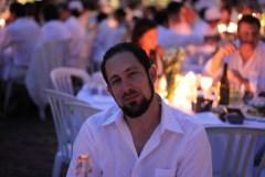 Joel at Diner en Blanc Toronto