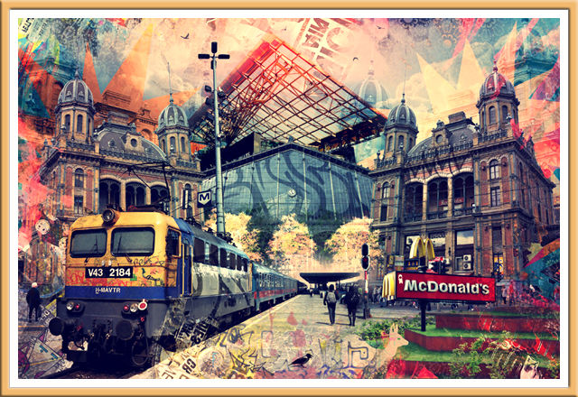 Nyugati Railway Station - Budapest, Hungary