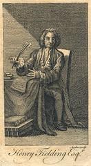 Henry Fielding (Stifts- och landsbiblioteket i Skara) Tags: portrtt frfattare henryfielding storbritannien