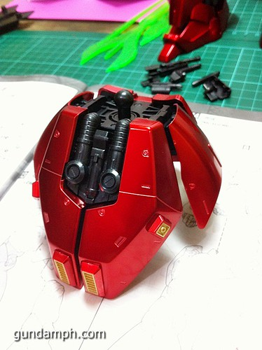MG Sazabi Metallic Coating (Titanium-Like Finish) (41)