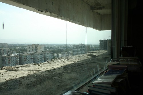 View of Dushanbe