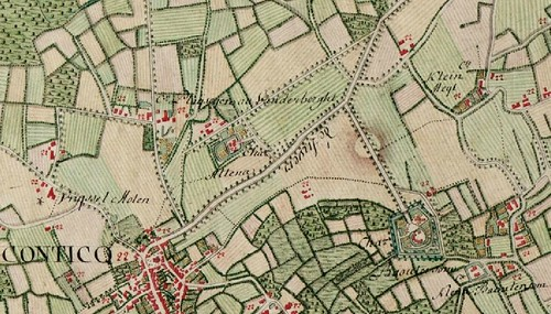 kaart Altena 1777