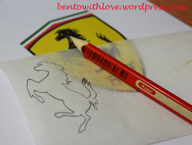 Print Ferrari Crest