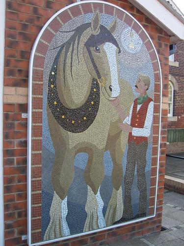 Skinningrove Mining Museum Mosaic