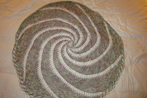 Super Spiral Shawl